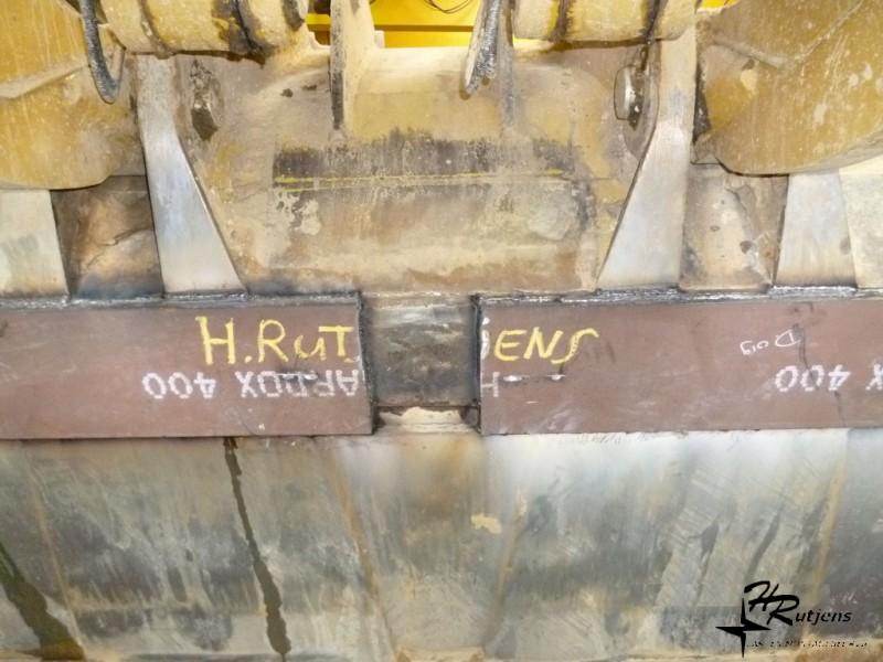 Foto: Hardox Reparatie Graafmachine